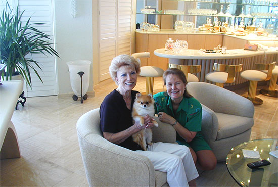 Coquetta (Little Flirt) with Lucy & Lorene in Boca